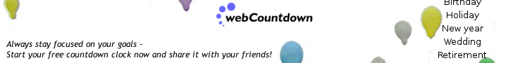 Start your webCountdown